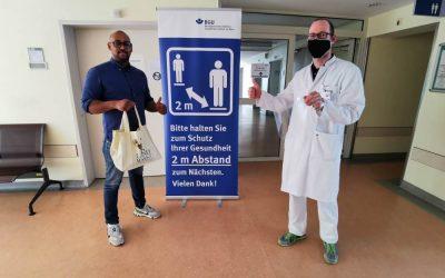 BGU: Mit Masken von Grünstoff